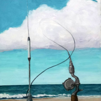 Reeling in the signal. 24x16