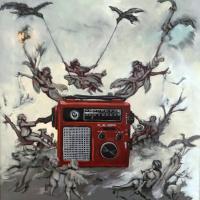 Weather Radio. 24x24. Oil on canvas
