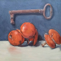Key and knobs. 8x8