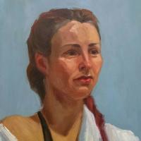 Portrait study. 13x11.