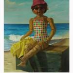 Doll at Beach web