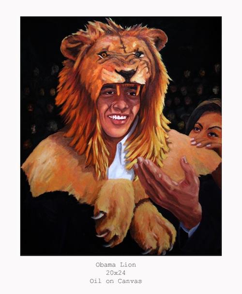 Obama Lion web