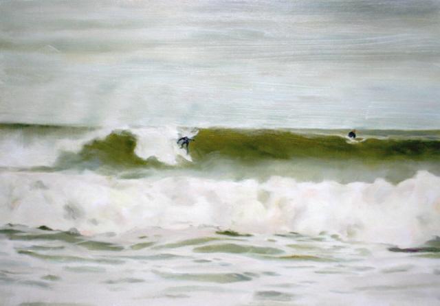fall surf(16x23)oilonwood