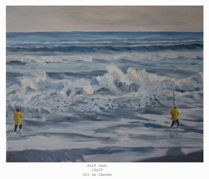 surf cast (16X20)lg