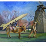 war against the windmill 16x20lg