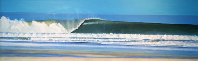 wave(18x60in)oil