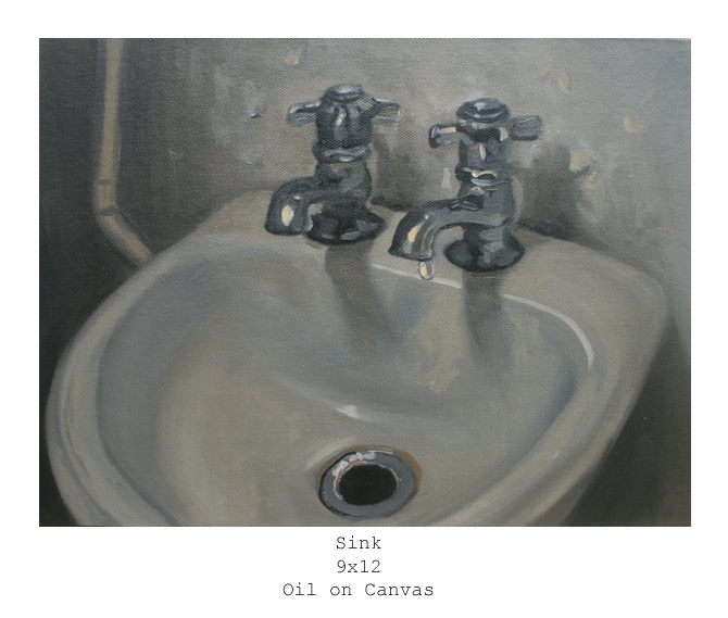 sink labeled copy